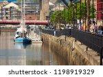newcastle upon tyne  england ... | Shutterstock . vector #1198919329