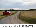dirt road on the countryside... | Shutterstock . vector #1198920379