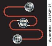vector abstract infographic... | Shutterstock .eps vector #1198929439