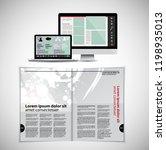 template vector design ready... | Shutterstock .eps vector #1198935013
