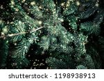 christmas background with... | Shutterstock . vector #1198938913