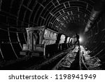 a man  worker  stands near the... | Shutterstock . vector #1198941949