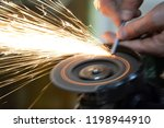 carpentry workshop. repairs.... | Shutterstock . vector #1198944910