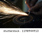 carpentry workshop. repairs.... | Shutterstock . vector #1198944913