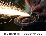 carpentry workshop. repairs.... | Shutterstock . vector #1198944916