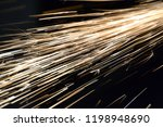 abstract background. glowing... | Shutterstock . vector #1198948690