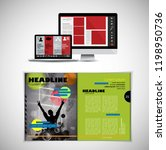 template vector design ready... | Shutterstock .eps vector #1198950736