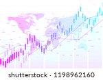 stock market or forex trading... | Shutterstock .eps vector #1198962160