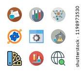 development icon set. vector... | Shutterstock .eps vector #1198973530