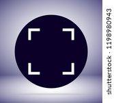 vector icon full screen