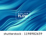 modern colorful flow poster.... | Shutterstock .eps vector #1198982659