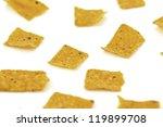 mexican snack nachos shot... | Shutterstock . vector #119899708