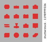 picture icon set. vector set... | Shutterstock .eps vector #1198999336