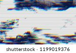 abstract glitch digital color... | Shutterstock .eps vector #1199019376