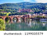 heidelberg castle  ...   Shutterstock . vector #1199035579