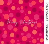 greeting card template with... | Shutterstock .eps vector #1199035780