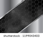 abstract silver and black...   Shutterstock .eps vector #1199043403