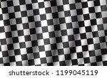 car races or auto rally flag... | Shutterstock .eps vector #1199045119