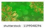 design vintage holiday cards... | Shutterstock .eps vector #1199048296