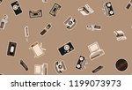 texture  seamless pattern of... | Shutterstock .eps vector #1199073973