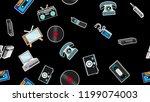 texture  seamless pattern of... | Shutterstock .eps vector #1199074003