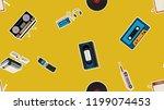 texture  seamless pattern of... | Shutterstock .eps vector #1199074453
