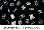 texture  seamless pattern of... | Shutterstock .eps vector #1199074723