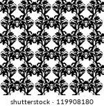 illustration of abstract black... | Shutterstock . vector #119908180