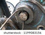 heavy machine rotation  brutal... | Shutterstock . vector #1199083156