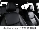 modern luxury car black leather ... | Shutterstock . vector #1199121073