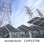 power plant using renewable...   Shutterstock . vector #119913748