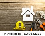 tools for repair concept of...   Shutterstock . vector #1199152213