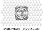 jumble grey badge with...   Shutterstock .eps vector #1199152630