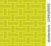 rattan yellow seamless pattern | Shutterstock .eps vector #1199165053