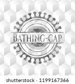 bathing cap grey emblem. retro...   Shutterstock .eps vector #1199167366