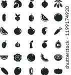 solid black flat icon set... | Shutterstock .eps vector #1199174920