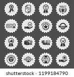 quality web icons stylized... | Shutterstock .eps vector #1199184790