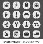 plumbing service web icons... | Shutterstock .eps vector #1199184799