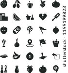 solid black flat icon set wind... | Shutterstock .eps vector #1199199823