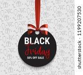 black friday sale. big sale.... | Shutterstock .eps vector #1199207530