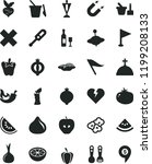 solid black flat icon set wind... | Shutterstock .eps vector #1199208133