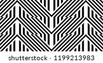 seamless pattern with striped... | Shutterstock .eps vector #1199213983