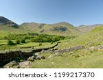 crinkle crags at head of... | Shutterstock . vector #1199217370