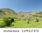 crinkle crags at head of... | Shutterstock . vector #1199217373