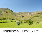 crinkle crags at head of... | Shutterstock . vector #1199217379