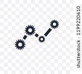 operating system transparent...   Shutterstock .eps vector #1199220610
