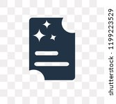 admission vector icon isolated... | Shutterstock .eps vector #1199223529