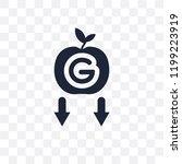 gravity transparent icon.... | Shutterstock .eps vector #1199223919