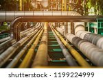 gas pipeline  rail and pipeline ... | Shutterstock . vector #1199224999