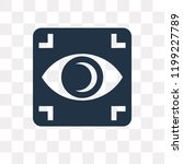 focus vector icon isolated on...   Shutterstock .eps vector #1199227789